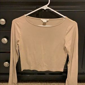 Women's Forever 21 Crop long sleeve size S